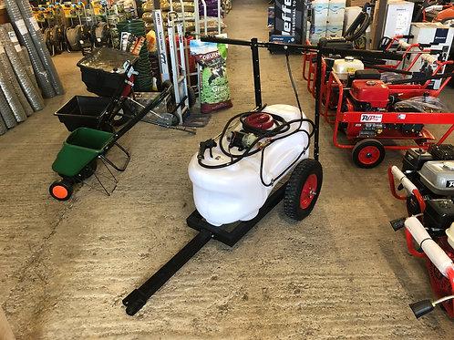 Ride on lawnmower 100L trailer sprayer with 1.8 m boom