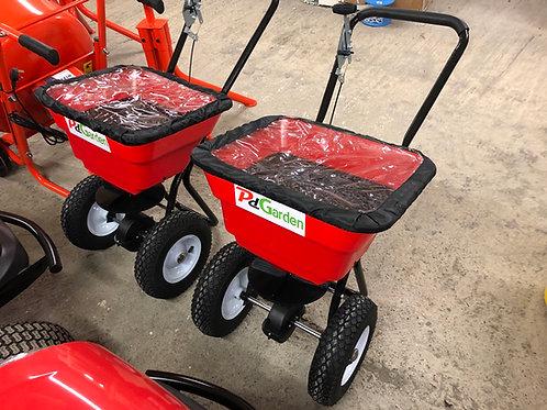 80lb Wheeled Lawn Spreader
