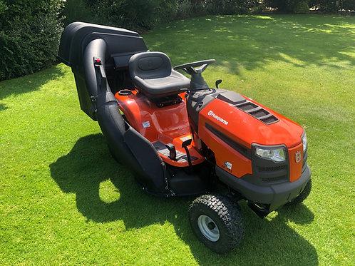 "Husqvarna TS 138 Ride On Lawnmower Mower 38"""