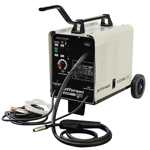 Jefferson 151 Amp Gas/No Gas MIG Welder 230V