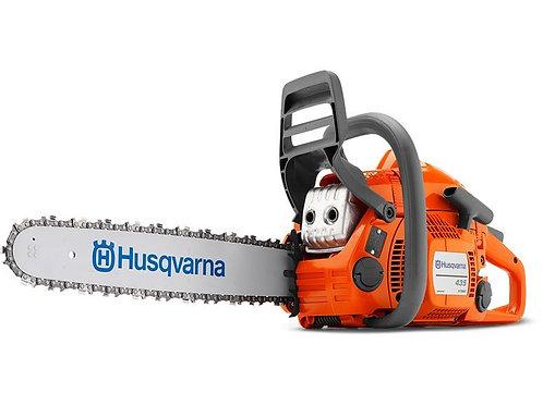 "Husqvarna 435 chainsaw (40.9cc) (15"" bar & chain)"