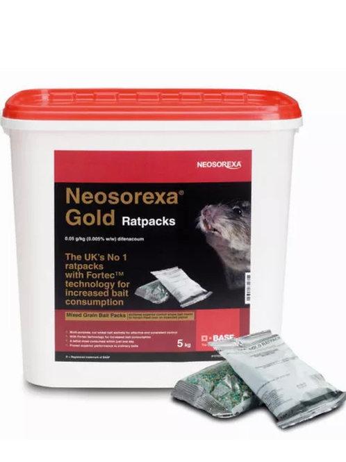 Neosorexa Gold Rat Packs Bait Poison 5Kg