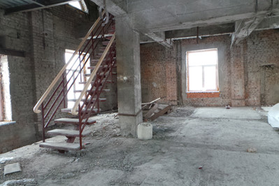 2 уровневый open space