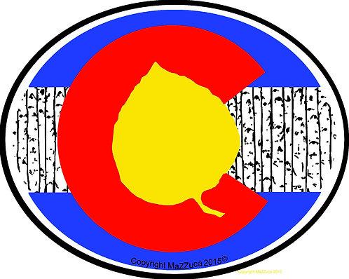 Colorado Aspen Stickers