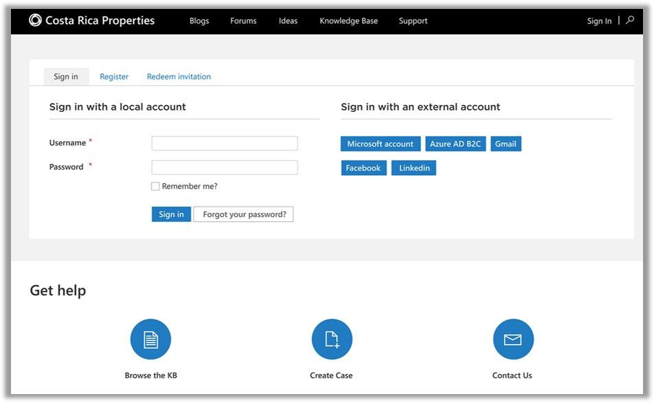 Screenshot of Microsoft Power Apps Portal