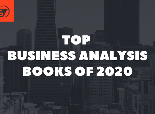 Top Business Analysis Books of 2020