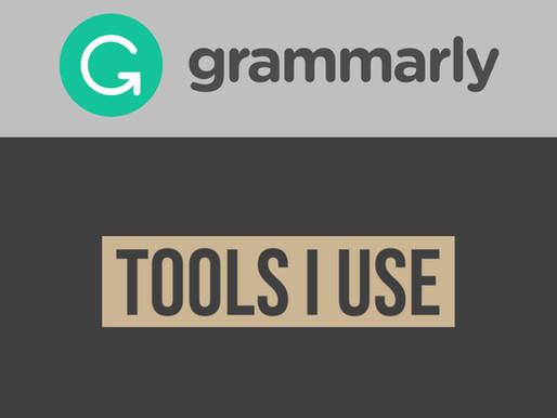Tools I Use: Grammarly