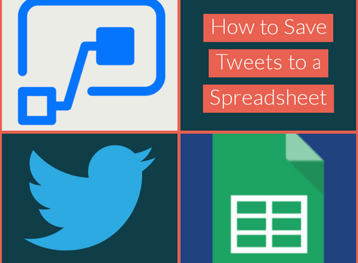 How to Save Tweets to a Spreadsheet Using Microsoft Power Automate