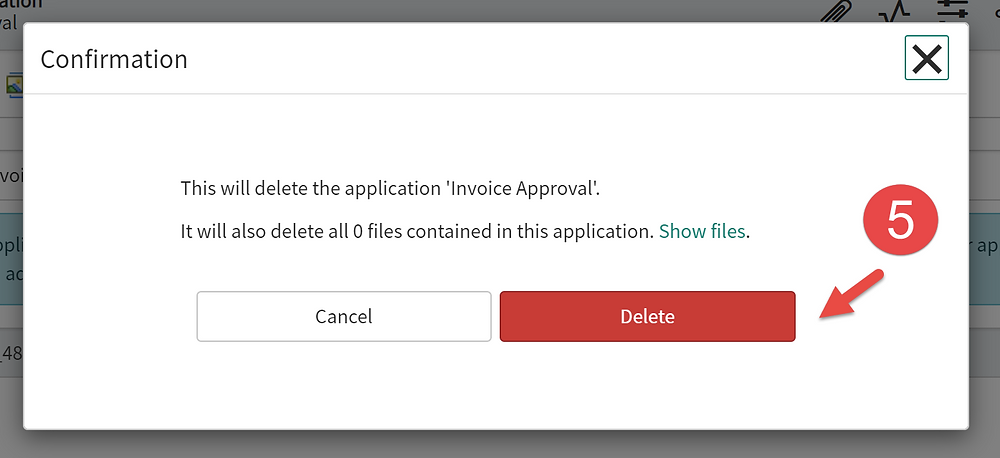 Step 5 of This article is going to show you how to delete a scoped app in ServiceNow App Engine low-code no-code platform.