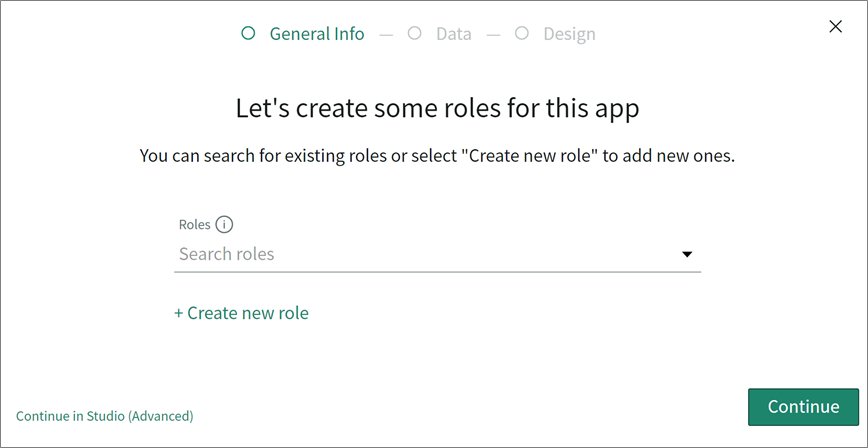 ServiceNow App Engine Guided App Creator Role Creation