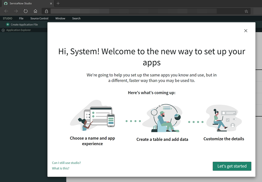 ServiceNow App Engine Studio