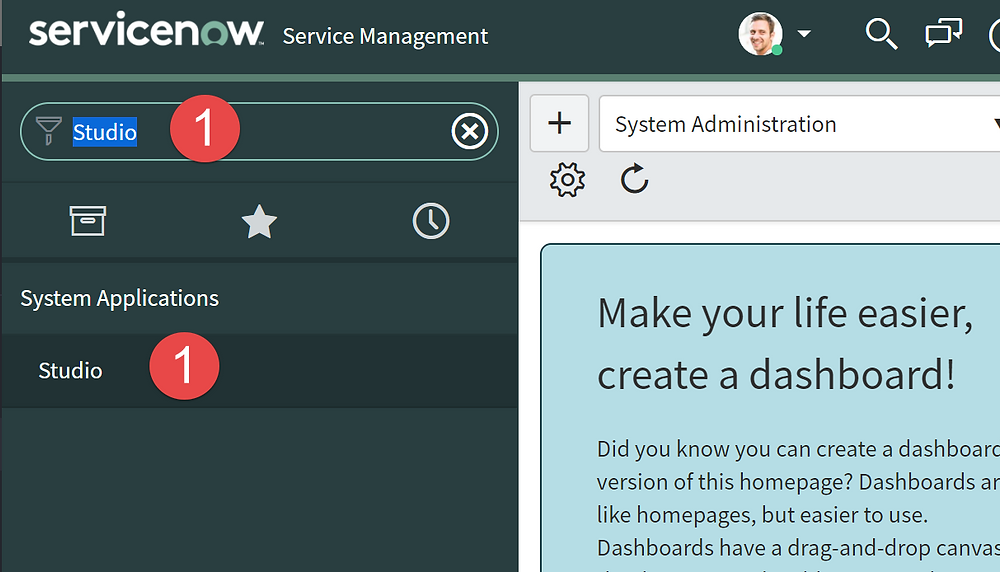 Step 1 - How to Create a Table in ServiceNow App Engine