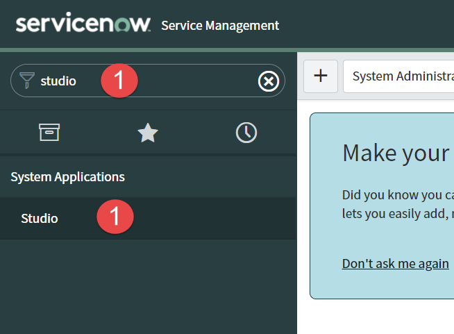 Step 1 - How to Create a Scoped App in ServiceNow App Engine Low-Code No-Code Platform