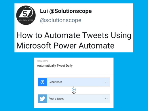 How to Automate and Schedule Tweets Using Microsoft Power Automate