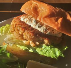 Maryland Crab Cake Sandwich