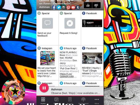 UbuntuFM Hip-Hop Radio app