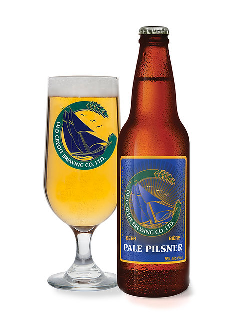 Pale Pilsner - 24 x 341 mL Bottles