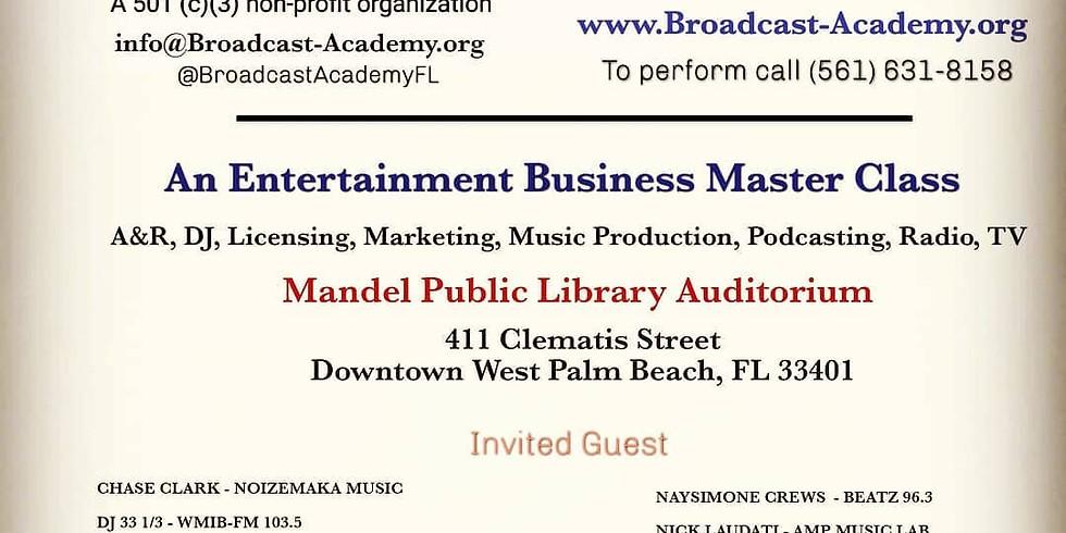Entertainment Business Master Class