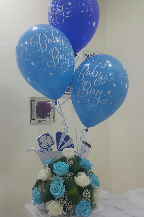 Balloons and Flower Set 010