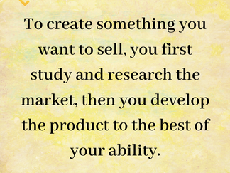 The 10 steps you need to follow to start your project / STEP 3:  MARKET STUDY