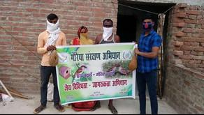 Achieving milestones for Sparrow Conservation Campaign, Nalanda district of Bihar