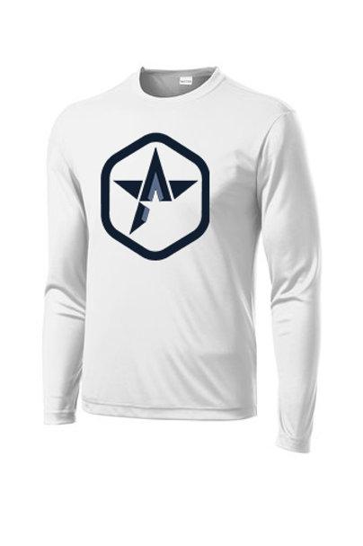 Long-Sleeve Poly T-Shirt