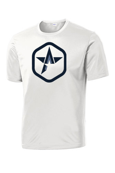 Shot-Sleeve Poly T-Shirt