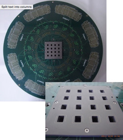 CIS Vertical Probe card real pad
