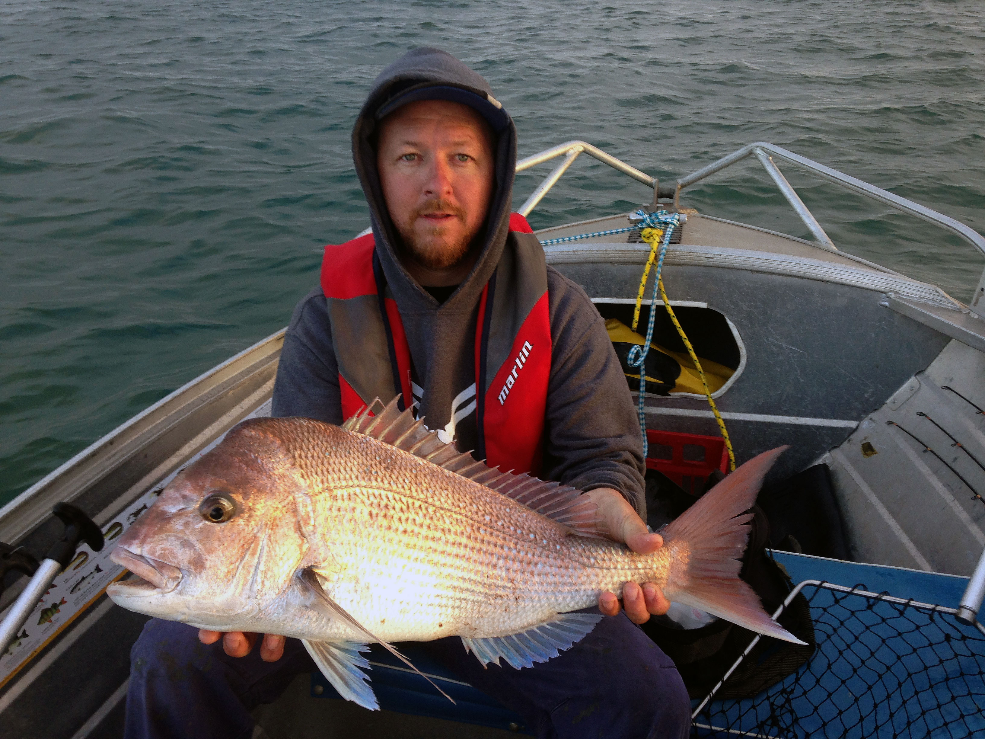 snapper out of a tinny