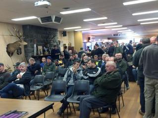 Great Talk at the Field hunters club