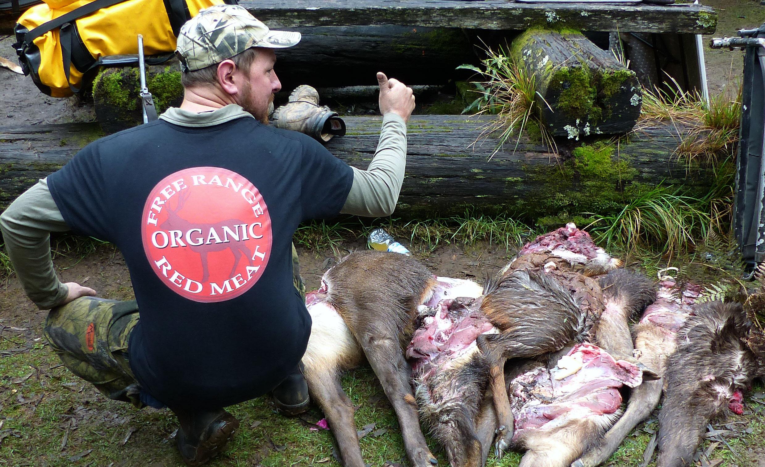 Free range organic red meat