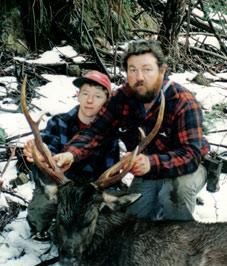Paul's first sambar stag 1994