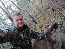 Josiah's First Sambar Deer