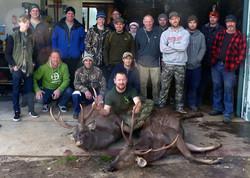 Sambar deer Butchering lesson 2015