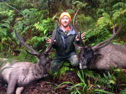 Top day two big stags