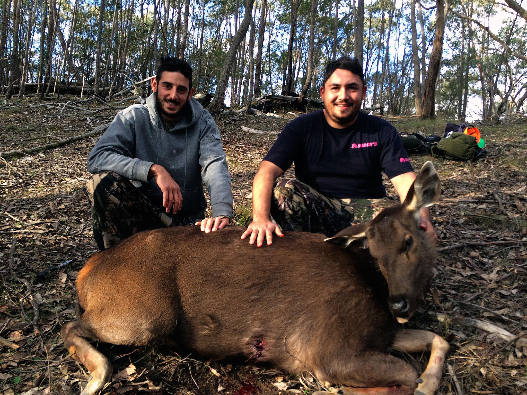 Joe's first sambar deer