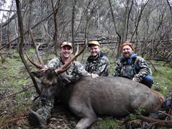 Brad's First Sambar stag