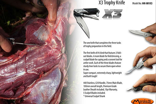 X3 Trophy Knife