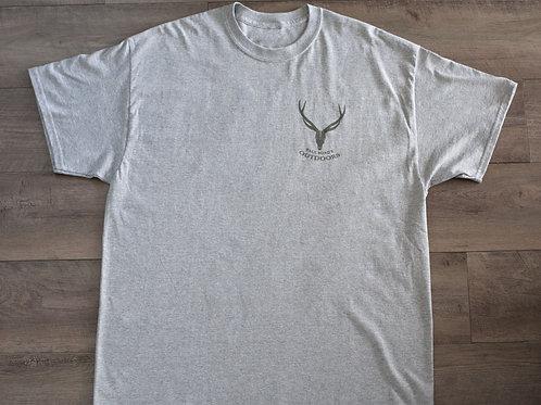 Light Grey with Grey Logo T-shirt men