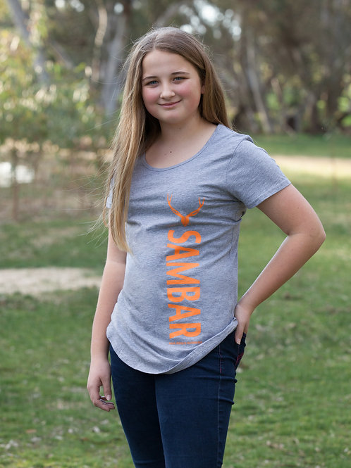Grey Sambar T-shirt women
