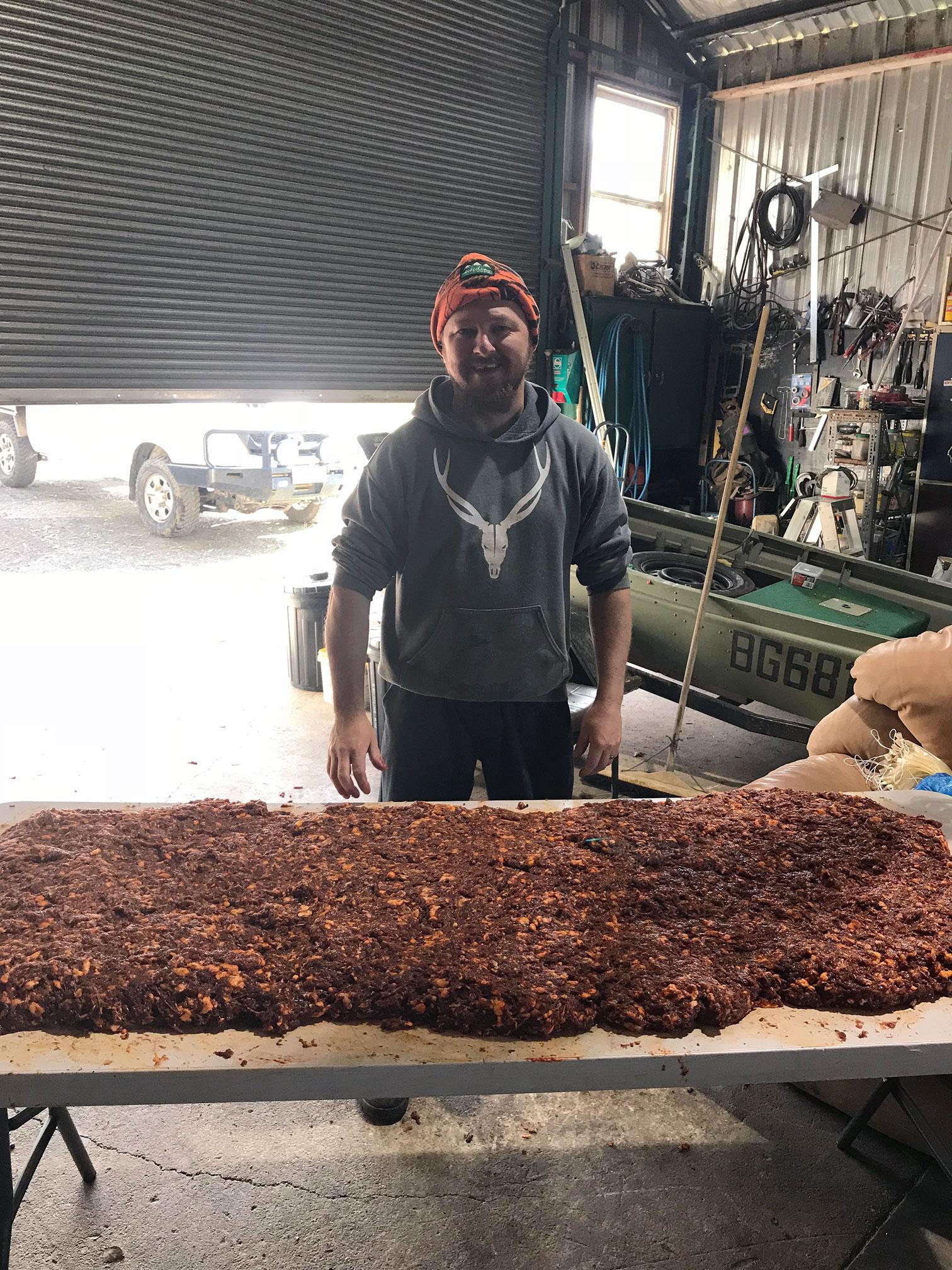 Salami Mixing Time