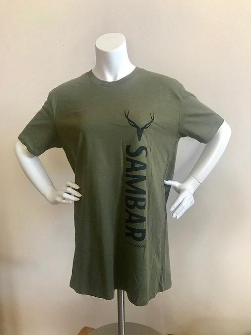 Green sambar T-shirt