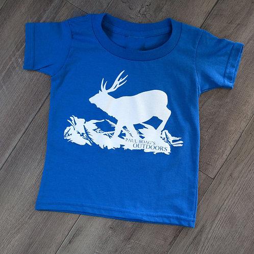 Blue with White Sambar T-shirt junior