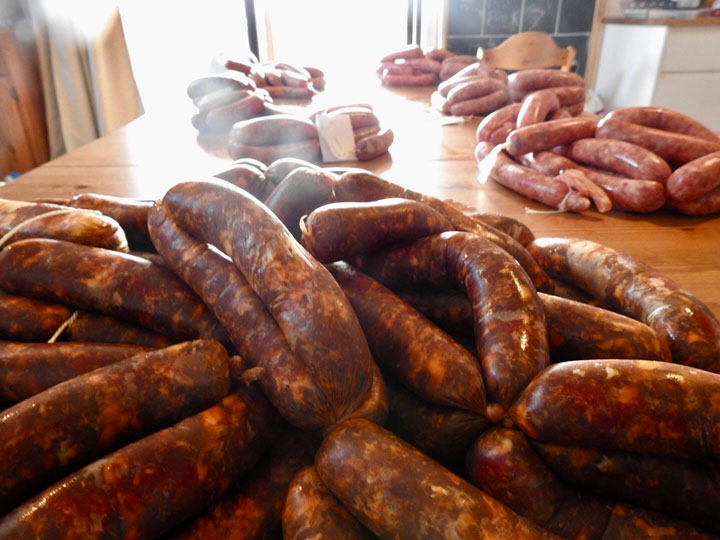 Free Range Organic Red Meat Sausages