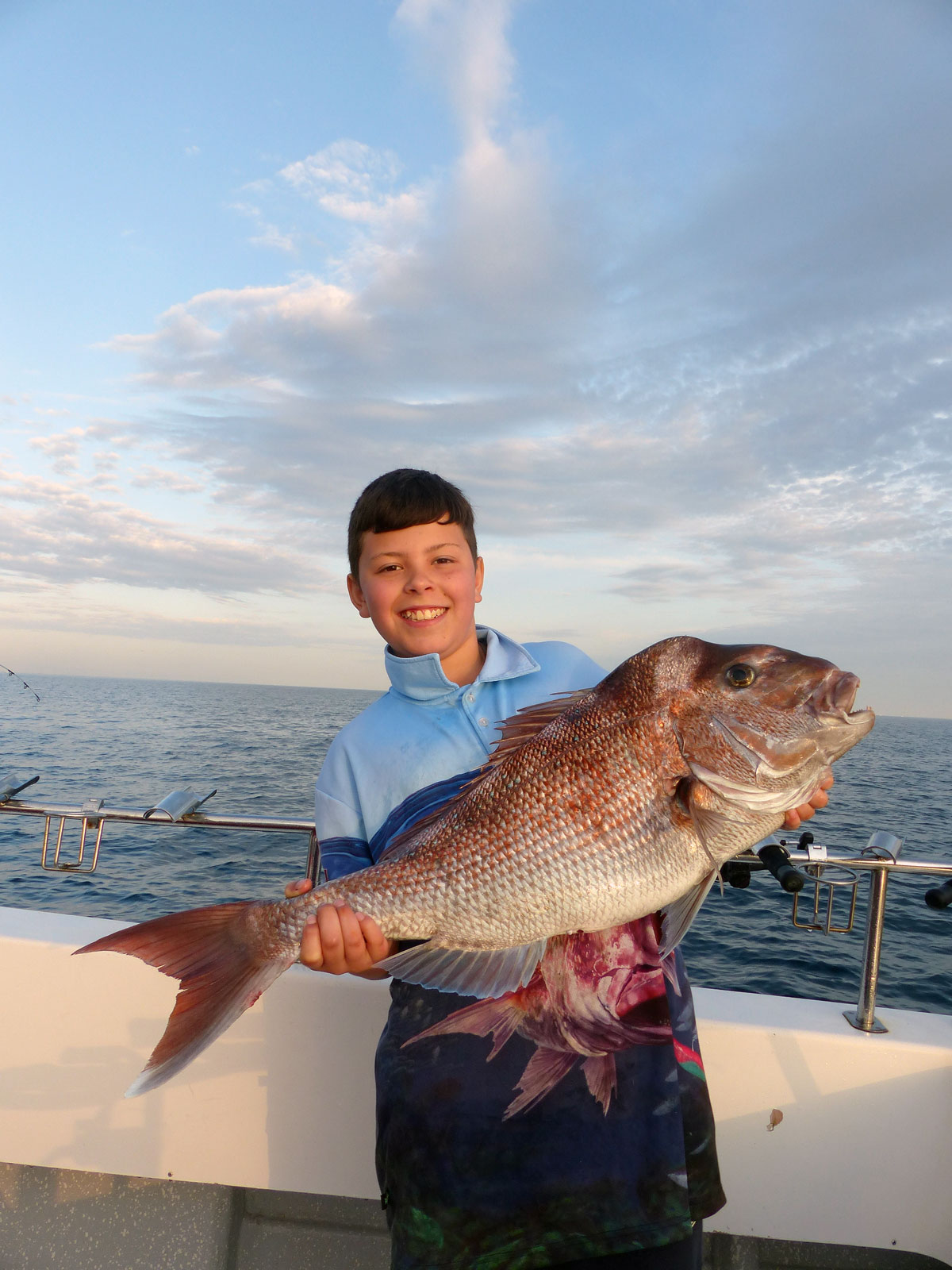Anthonys PB snapper October 2015