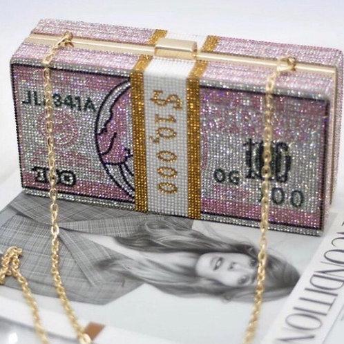 10K MONEY CLUTCH -PINK
