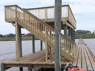 Elevated Dock Deck
