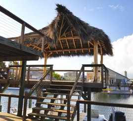 Elevated Deck and Palapa