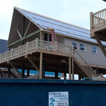 Beach house stairs!
