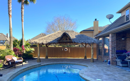 Synthetic Palapa with Entrance